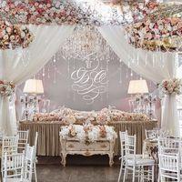 "Свадебное оформление для акции ""Свадьба в Zолоте!"" цена без акции: 1,639 $"