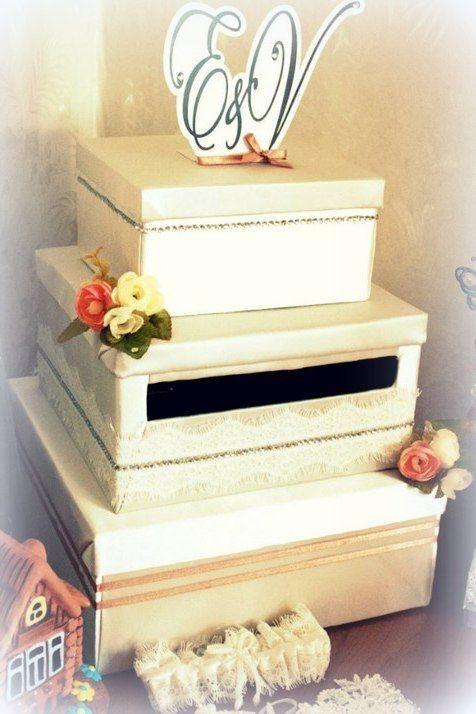 Коробочка для денег. Подвязка. Ручная работа. - фото 5134133 Vesta Deluxe - оформление свадеб