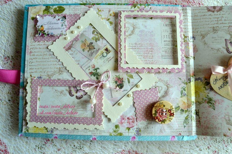 Рамки объемные  - на расстоянии от страницы - можно вкладывать под них фото. - фото 7637288 Vesta Deluxe - оформление свадеб