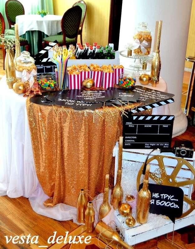 Кэнди-бар киносвадьбы! - фото 7694754 Vesta Deluxe - оформление свадеб
