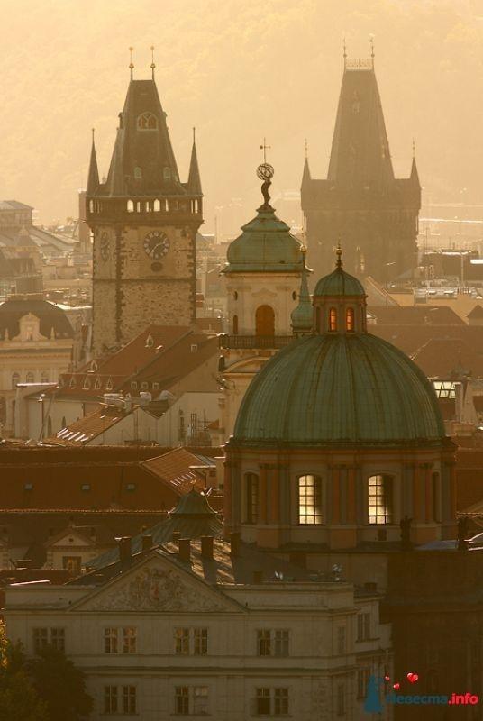 """Старогородские башни - фото 389161 СА"""" Маэстро Купидон"""" - свадьбы в Праге"""