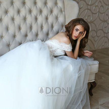 Свадебное платье Шанти-айвори (TF)