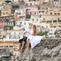 Свадьба в Италии, Позитано.