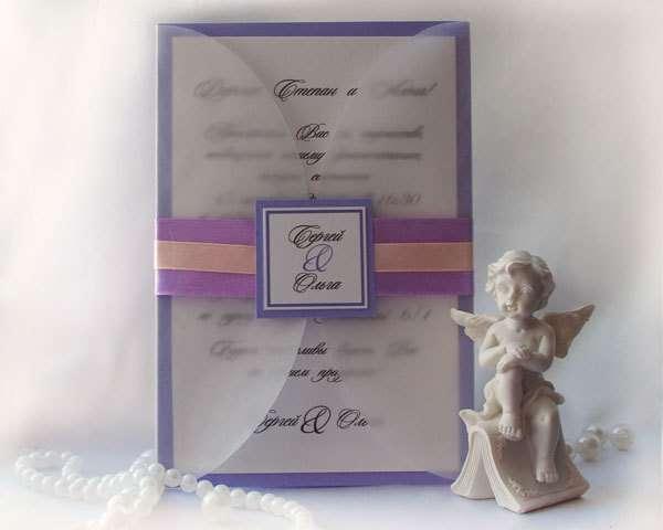 """Фото 5256655 в коллекции Свадебные приглашения - """"Ажур декор"""" - студия красивых свадеб"""