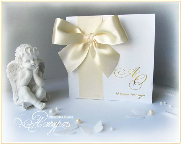 """Фото 5256685 в коллекции Свадебные приглашения - """"Ажур декор"""" - студия красивых свадеб"""