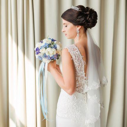Образ невесты, причёска и макияж