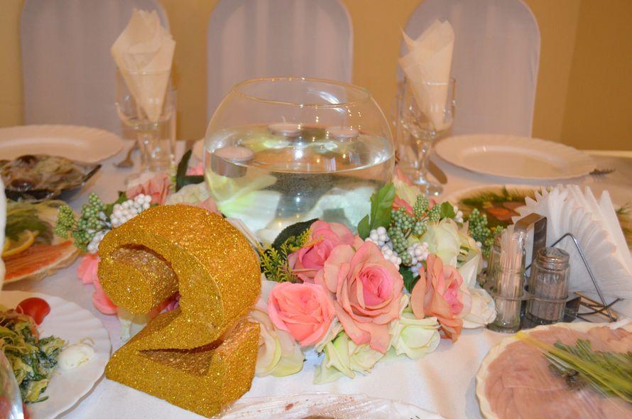 Фото 16741452 в коллекции оформление свадьбы в ресторане метрополь 25.04.2015г - Флорист Кристина Платонова