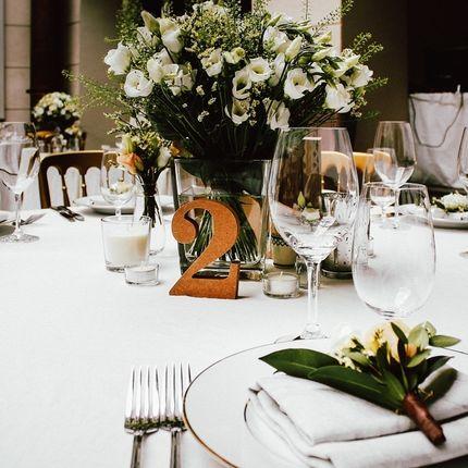 Флористические композиции на столы гостей, цена за 1 шт