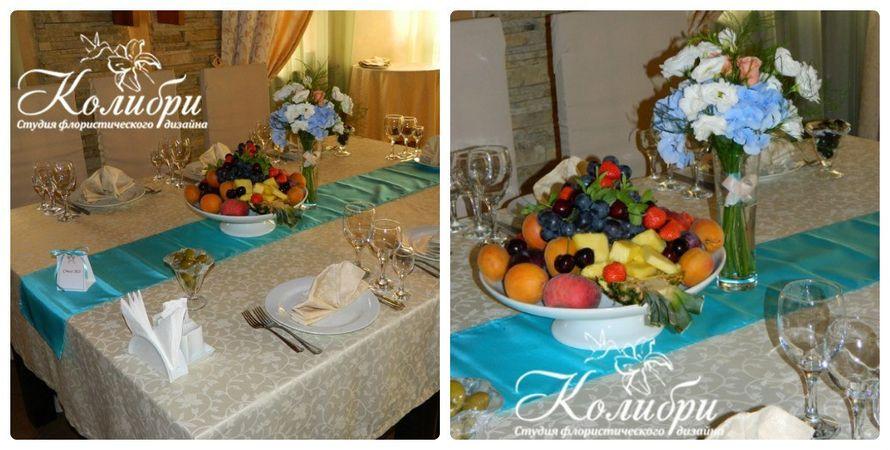 Композиции на столы гостей - фото 5330627 Студия флористического дизайна FloKolibri