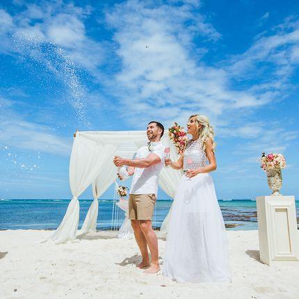Фотосъёмка церемонии на пляже Кабеса де Торо