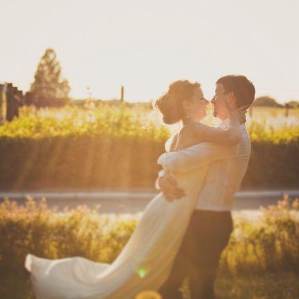 Свадебная фотосъёмка до первого танца