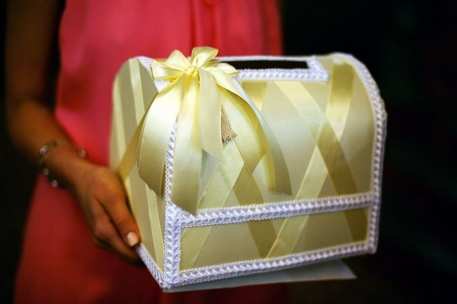 Свадебная коробка своими руками пошаговое