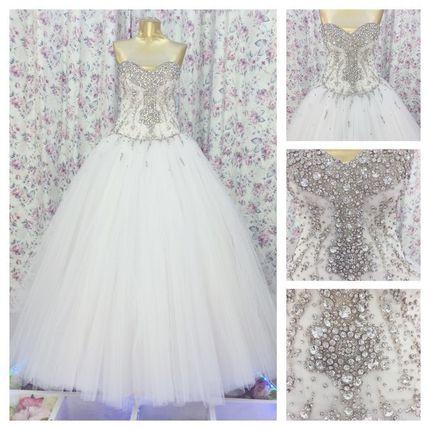 Свадебное платье, модель 018