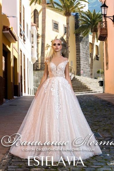 43ab04daf3441d2 Свадебное платье Estelavia коллекции Lovely Princess модель Лала вид ...