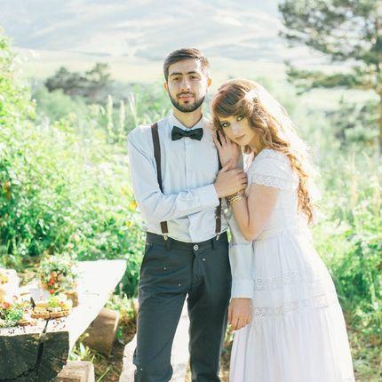 Свадебное платье в стиле Бохо Шик