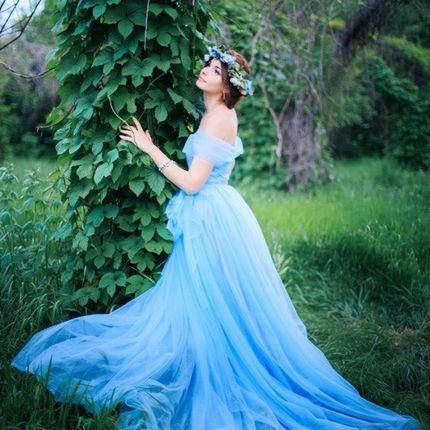 """Свадебное платье """"Небесное"""""""