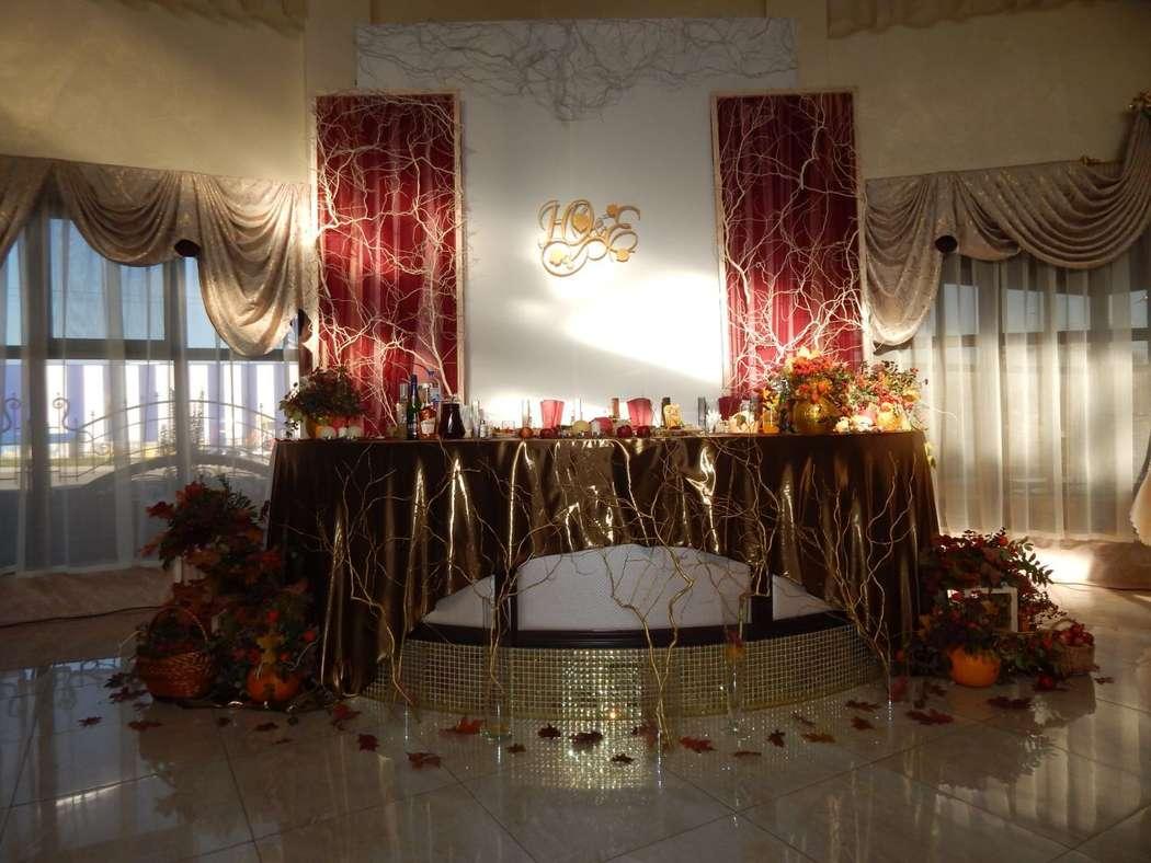 """Свадьба в осенней стилистике - фото 14036414 Студия декора """"Свадебная вуаль"""""""
