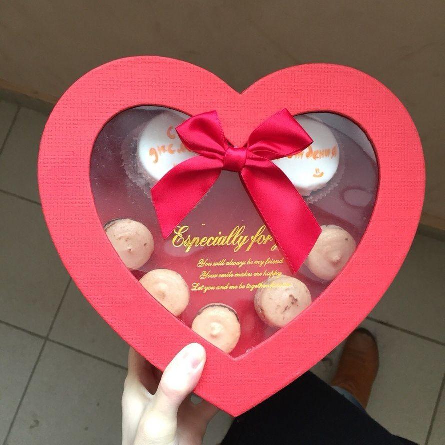 Фото 5477193 в коллекции Коробочки цветы+макаронс - COUTURE - Candy Bar, коробочки с цветами, торты