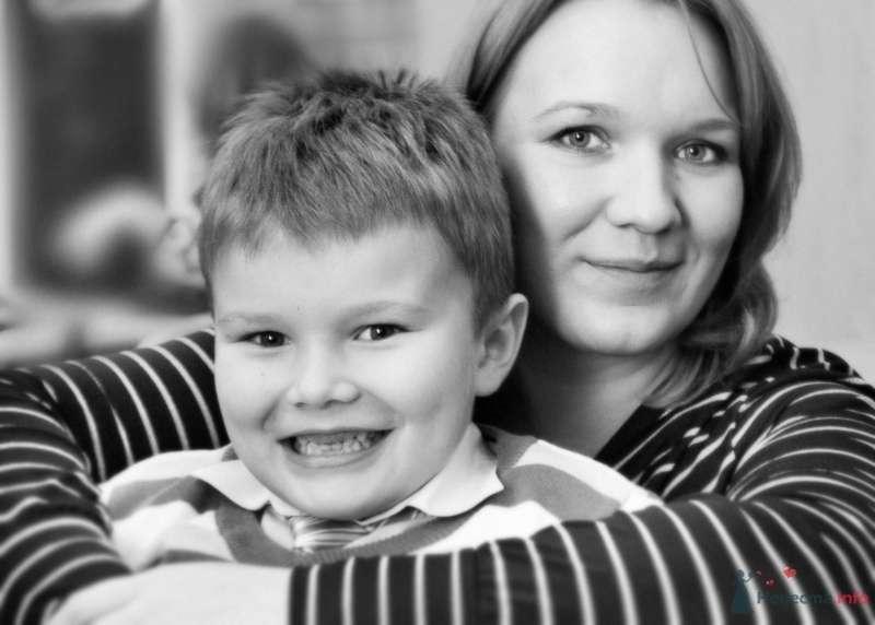 с сыном пару лет назад) - фото 38529 Парикмахер-визажист Надежда Данюшкина
