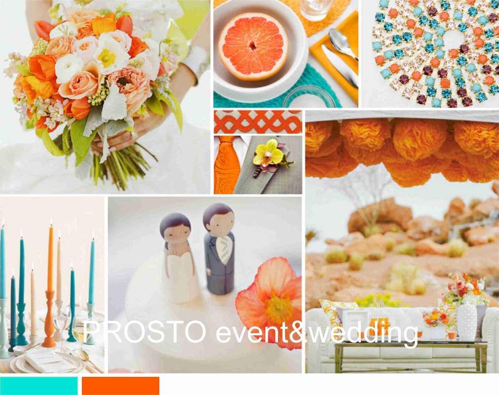 Цитрусовая нежность - фото 5617884 Свадебное агентство Prosto event and wedding
