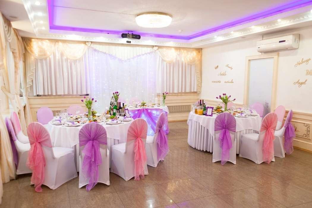 """Розово-фиолетовая гамма - фото 16983910 Банкетный зал """"Корсаков"""""""