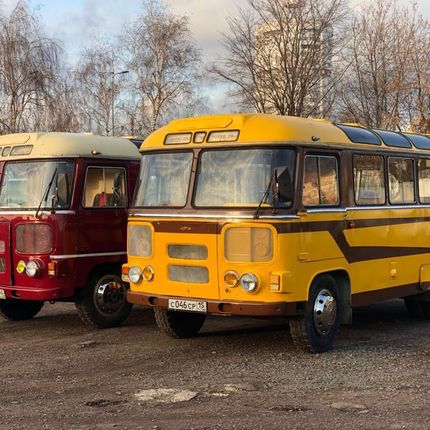 Ретро автобусы Тобик - аренда