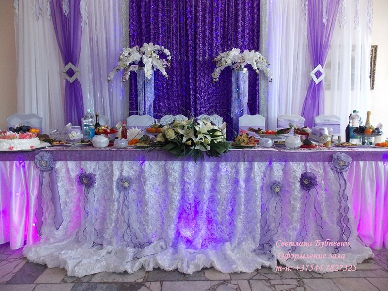 Фото 5725401 в коллекции Оформление в фиолетовом цвете - Декор-студия Светланы Бубневич