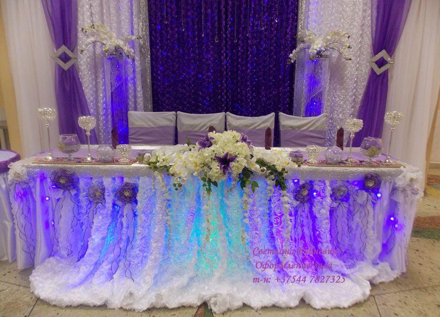 Фото 5725411 в коллекции Оформление в фиолетовом цвете - Декор-студия Светланы Бубневич