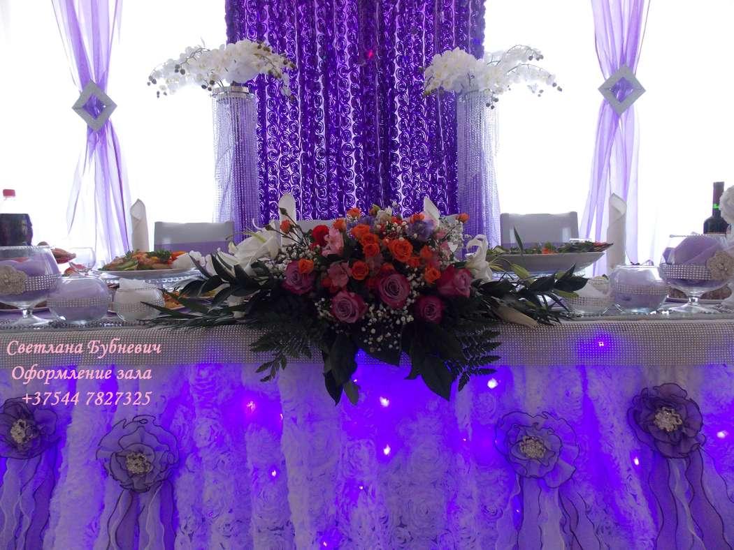 Фото 5725415 в коллекции Оформление в фиолетовом цвете - Декор-студия Светланы Бубневич
