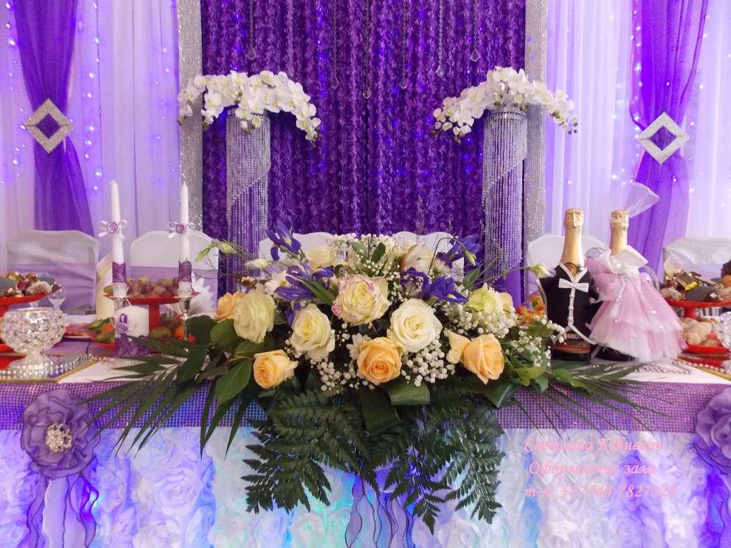Фото 5725427 в коллекции Оформление в фиолетовом цвете - Декор-студия Светланы Бубневич