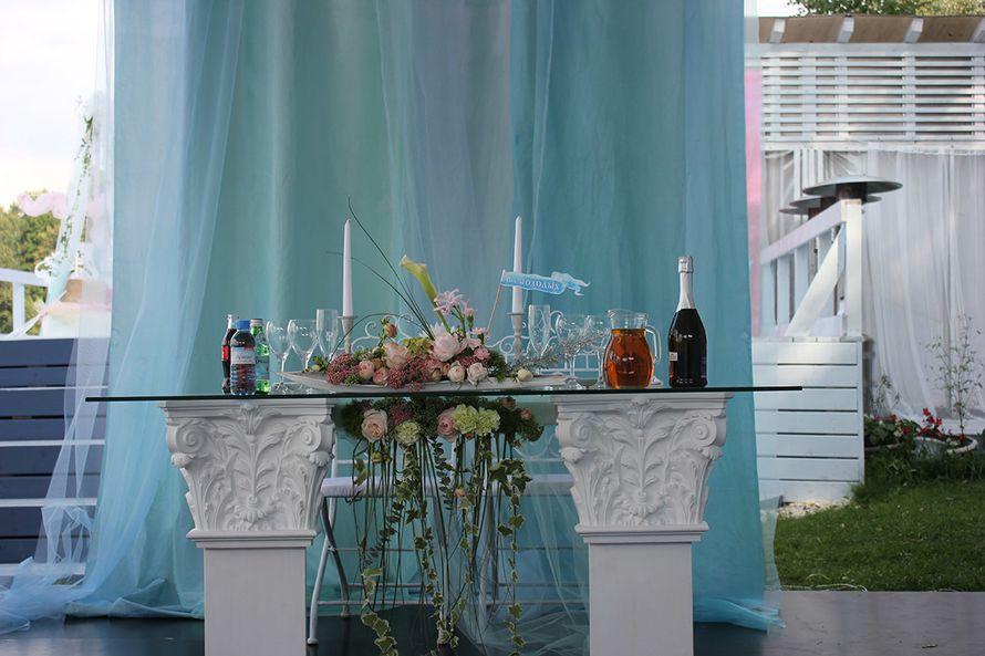Декор свадебных столов - фото 5817716 Барабуля - летний ресторан
