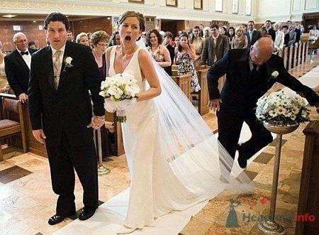 Фото 5416 в коллекции Свадебные курьезы