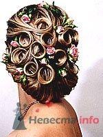 Фото 8320 в коллекции Прически с живыми цветами - leshechka