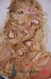 Фото 8331 в коллекции Прически с живыми цветами - leshechka