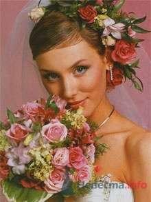 Фото 8344 в коллекции Прически с живыми цветами - leshechka