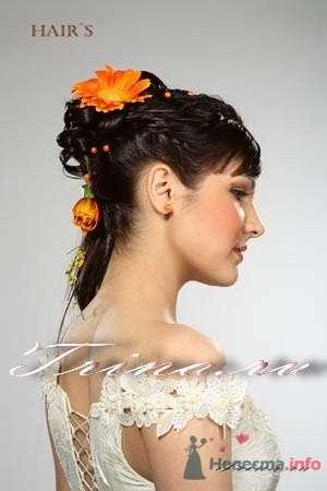Фото 8359 в коллекции Прически с живыми цветами - leshechka