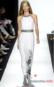 Коктейльное платье Badgley Mischka от ПЛЮМАЖ - фото 1187 Плюмаж - бутик выходного платья и костюма