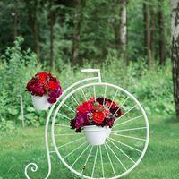 Велосипед с цветами Стоимость аренды 3000 р