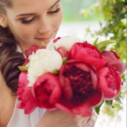 Образ в день свадьбы - макияж и причёска