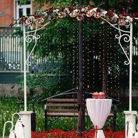 арка, гранатовая свадьба