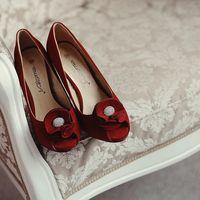 гранатовые туфли