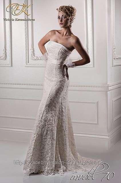 Белое кружевное, размер 44-46 - фото 741737 Первый свадебный салон в Белореченске