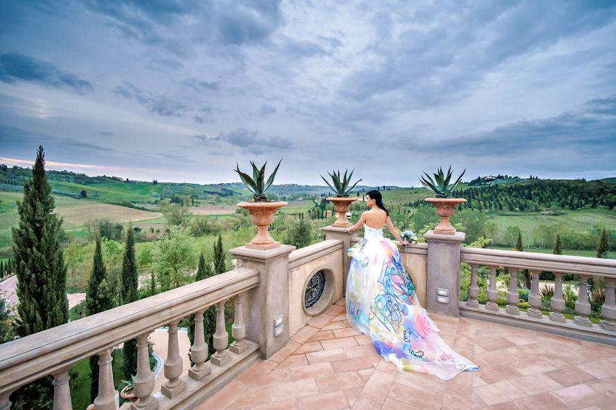 Официальная свадебная церемония на вилле в Тоскане - фото 16315552 Грибанова Юлия - координатор свадеб в Италии