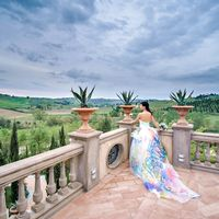 Официальная свадебная церемония на вилле в Тоскане
