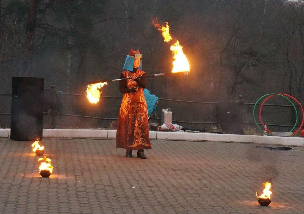 Фото 6060357 в коллекции Огненное (фаер) шоу - Творческий коллектив Огни большого города