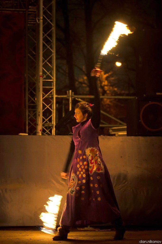 Фото 6060391 в коллекции Огненное (фаер) шоу - Творческий коллектив Огни большого города