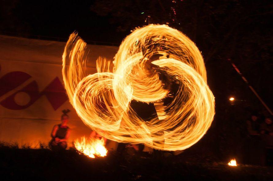 Огненное и огненно-пиротехническое шоу
