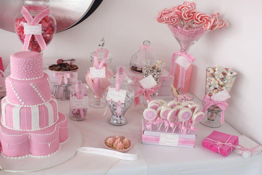 #оформлениесвадьбы #самара #красиваясамара #кэндибар #candybar - фото 11118900 Fleur-de-lis цветочная мастерская
