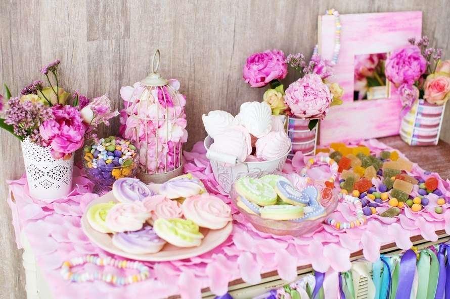 #оформлениесвадьбы #самара #красиваясамара #кэндибар #candybar - фото 11118922 Fleur-de-lis цветочная мастерская