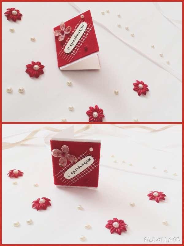 Фото 6123605 в коллекции Мини-открытки для букетов - Пригласительные ручной работы Cardmaking_simf
